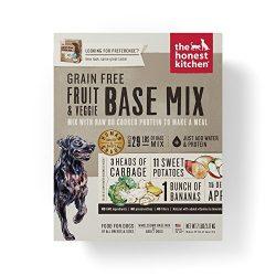 Honest Kitchen Grain Free Fruit & Veggie Base Mix Recipe for Dogs 7 lb Box – Preference