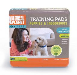 Animal Planet 23408 Indoor Puppy XL Training Pads, 26″ x 30″