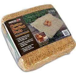 Petmate Precision Pet Excelsior Nesting Pads Chicken Bedding – 13×13 Inches – Package of 10
