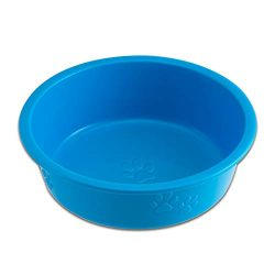 Loving Pets Dolce Luminoso Dog Bowl, Blue, Large