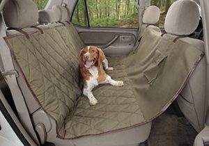 PetSafe Solvit Deluxe Hammock Seat Cover, Extra Wide, Classic Green
