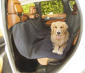 Black Universal Waterproof Hammock Back Seat Cover By Majestic Pet Products