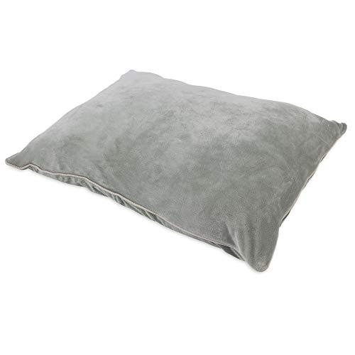 Whisker Doodle Velvet Dog Pillow Bed Lounger-27″x36″