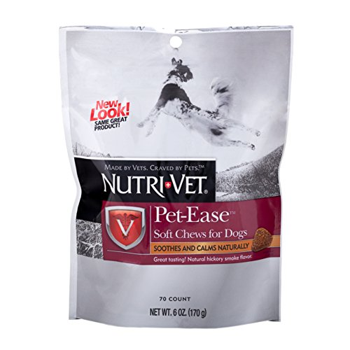 Nutri-Vet Pet-Ease Soft Chews for Dogs, 6 Ounces