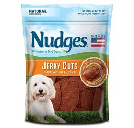 Nudges Duck Jerky Dog Treats, 16 oz