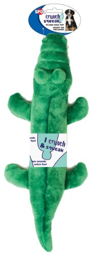 Ethical Pets Crunch and Squeak Plush Bottle Dog Toy