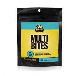 Zoeez Naturals Multi-Bites Supplement Dogs: Daily Multivitamin Dogs Vitamins, Minerals & Omega Oils, Chewable Dog Vitamin, 30 Chews
