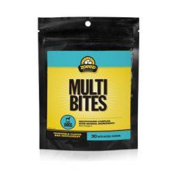 Zoeez Naturals Multi-Bites Supplement Dogs: Daily Multivitamin Dogs Vitamins, Minerals & Omega Oils, Chewable Dog Vitamin, 30 Chews
