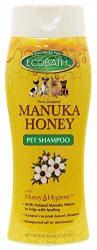 Manuka Honey Natural Pet Dog Shampoo or Conditioner Organic Soothing Ingredients 13.5 Ounces