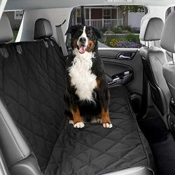 Kundu Waterproof Non Slip Padded Car Seat Cover Protector with Seat Anchors and Head Straps