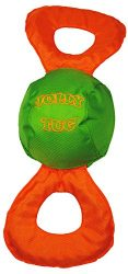Jolly Pets Jolly Tug Tug/Squeak Toy, Large ,Assorted
