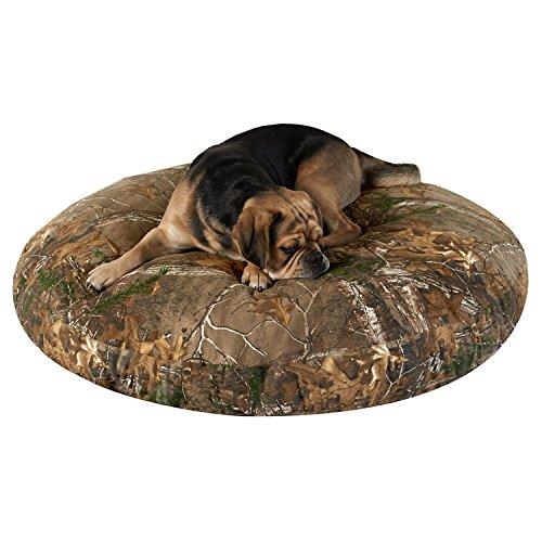 PawTex Realtree Xtra Camo Round Dog Bed, 40″