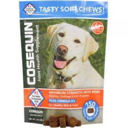 Cosequin Soft Chews Maximum Strength with MSM Plus Omega3 (150 Count)