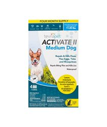 TevraPet Activate II Flea and Tick Prevention for Dogs – Topical, 11-20 Lbs