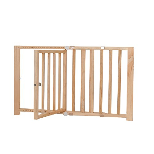 Dogit 70621 Pet Safety Gate, 28-44″ W x 18″ H