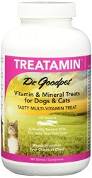 Dr. Goodpet Pet Vitamin/Mineral Tablets for Pets, Small