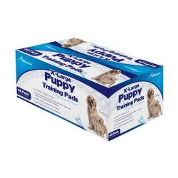Allmax Puppy Training Pads, 27.5-Inch by 35.5-Inch X-Large, 40-Piece