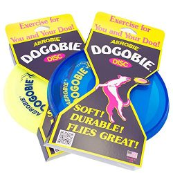 Aerobie Dogobie Disc Outdoor Flying Disc for Dogs – Colors May Vary