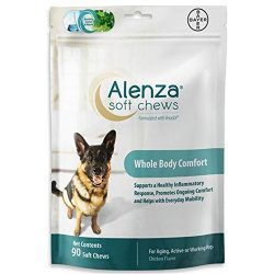 Bayer Alenza Soft Chews Aging Support for Dogs, 90 count