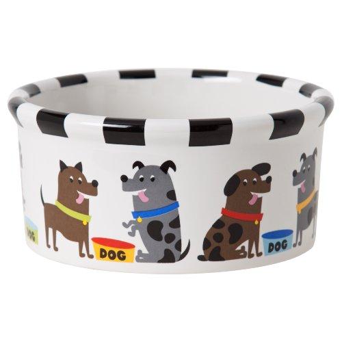 Signature Housewares Pooch Dog Bowl, Medium