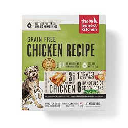 Honest Kitchen Human Grade Dehydrated Grain Free Chicken Dog Food 2 lb – Force