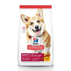 Hill's Science Diet Dry Dog Food, Adult, Small Bites, Chicken & Barley Recipe, 5 LB Bag