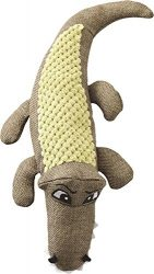 Ethical Pets Catie Crocodile Plush Dog Toy, 12-Inch