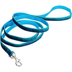 Coastal Pet Products 13426 BES06 Attire Sparkles Dog Leash Harnesses, Blue, 5/8″ 6′
