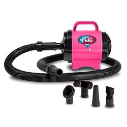 B-Air Fido Max 1 Dog Dryer –  Premier Grooming Collection, Hot Pink