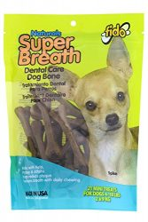 Fido Super Breath Dental Care Dog Bones with Chlorophyll – Mini 21/pk