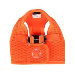 Puppia Neon Soft Vest Harness B, X-Large, Orange