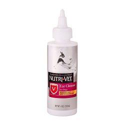 Nutri-Vet Ear Cleanse Liquid for Dogs, 4-Ounce