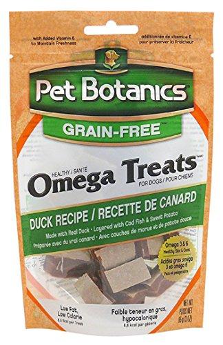 Pet Botanics Healthy Omega Treats For Dogs, Duck 3 Oz.