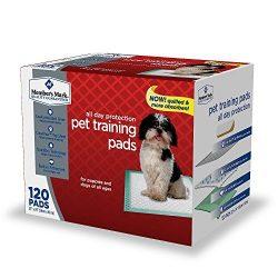 Member's Mark Pet Training Pads, 23″ x 24″ (120 ct.)