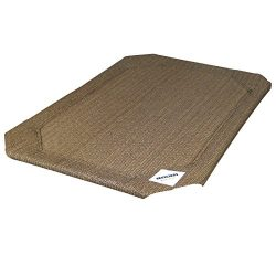 Coolaroo Replacement Cover, The Original Elevated Pet Bed by Coolaroo, Large, Nutmeg
