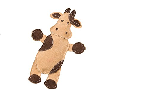 SPOT Ethical Pets Dura-Fused Leather Assorted Barnyard Animals Dog Toys, 11″