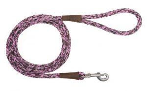 Mendota Pet Snap Dog Leash, 1/2 by 6-Feet, Pink Camo