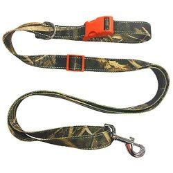 Realtree Camouflage Designed Dog Leash, Large. Safe & Heavy-Duty Pet Leash