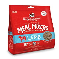 Stella & Chewy's Freeze-Dried Raw Dandy Lamb Meal Mixers Grain-Free Dog Food Topper, 18 oz. bag