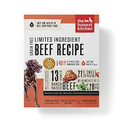 Honest Kitchen Limited Ingredient Beef Dog Food Recipe 10 lb Box – Hope