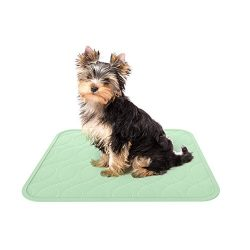 """Puppy Pads Pet Training Mat- 2 Pack Quick Absorb, Waterproof, Machine Washable, Reusable- Dog Housebreaking, Training Supplies, 17"""" x 20"""" by PETMAKER"""