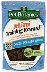 Pet Botanics 10 Oz Training Reward Chicken Treats For Dogs, Mini
