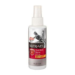 Nutri-Vet Anti-Itch Spray for Cats, 4-Ounce