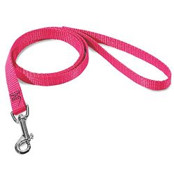 3/8in x 4ft Lead Dog Leash Pink By Majestic Pet Products