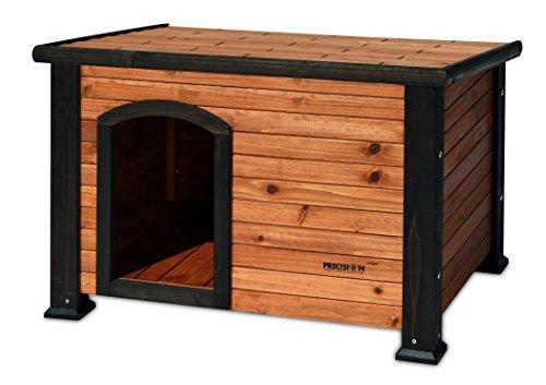 Precision Pet Outback Log Cabin Dog House, Medium, 45 1/2″ x26 5/8″ x 27 1/2″