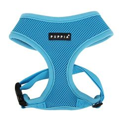 Puppia Soft Dog Harness, Sky Blue, X-Large
