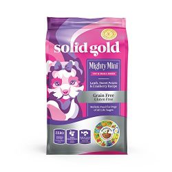 Solid Gold – Mighty Mini Small & Toy Breed Dry Dog Food – Grain-Free with Real Lamb