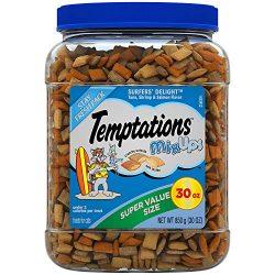 Temptations 10160879 1 Mixups Cat Treats, Surfers' Delight, 30 oz. Tub