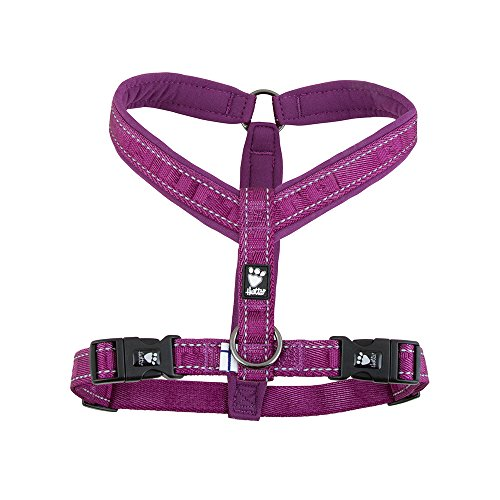 Hurtta Casual Padded Dog Y-Harness, Heather, 14 in