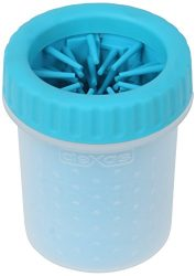 Dexas MudBuster Portable Dog Paw Cleaner, Small, Blue